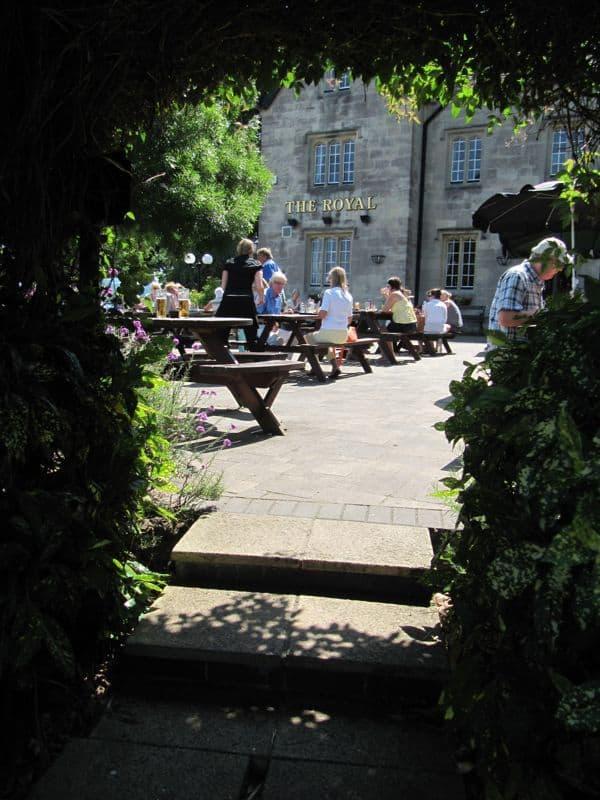 The Royal Inn Beer Garden, Portishead