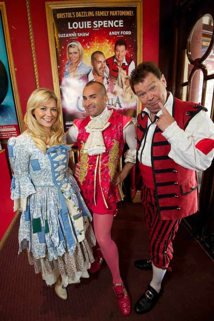 The pantomime is one show where the parents can really relax, because it doesn't matter if our children are on their best behaviour - in fact it's much more fun if they are a bit rowdy! Click through to find out if Cinderella, the Christmas panto at Bristol Hippodrome starring Andy Ford, Louis Spence & Suzanne Shaw IS the campest show on earth!