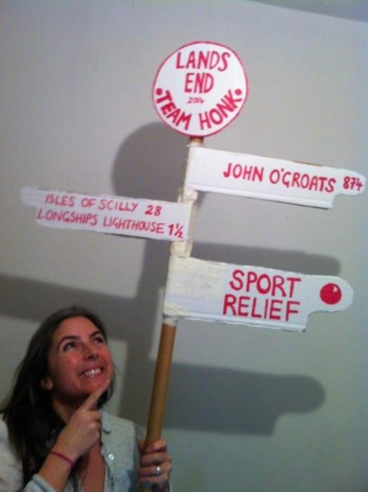 comic relief, sports relief, team honk