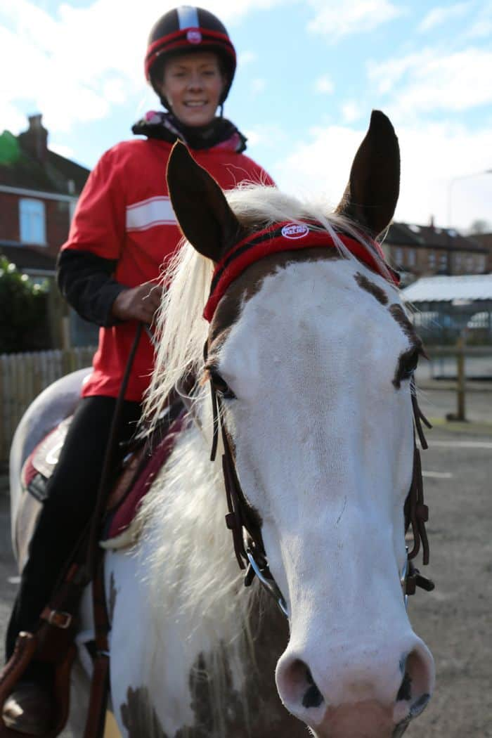 Horse organised for Sport Relief