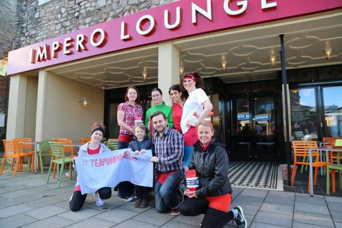 Outside Impero Lounge