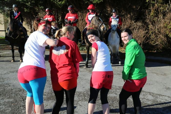 Sports Relief in Portishead