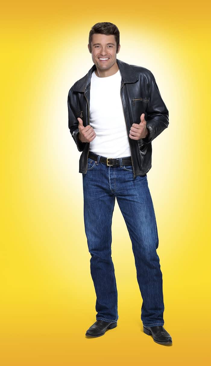 Ben Freeman as The Fonz in Happy Days