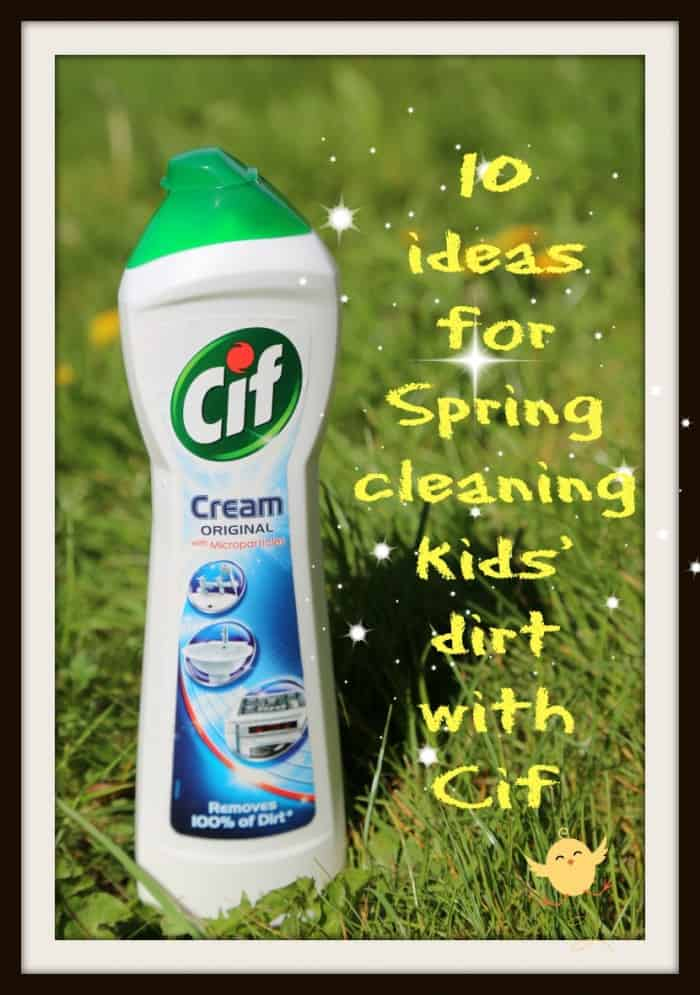ten amazing cleaning tips Cif cream cleaner