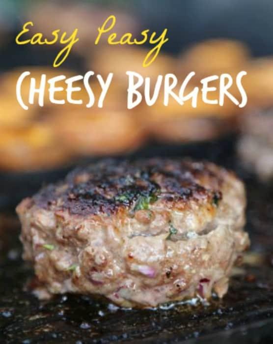 Easy Peasy Cheesy Burgers