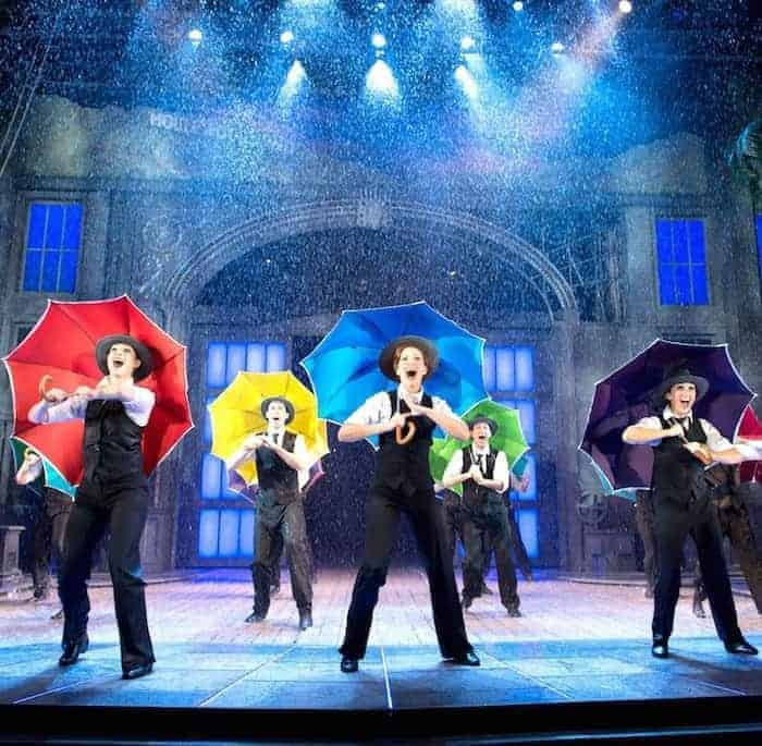 Singin in the Rain Musical at Bristol Hippodrome 2014 Review #singinintherain @Bristolhipp