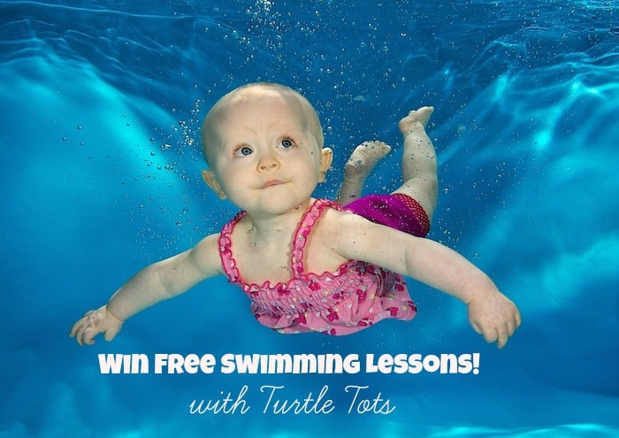 Post image for Turtle Tots Giveaway – win free swimming lessons!
