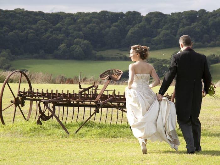 Ox Pasture Hall wedding