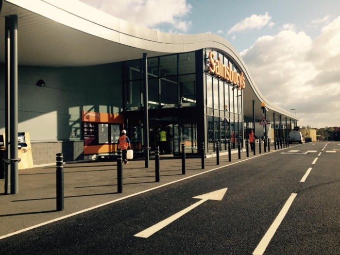 sainsburys opens in portishead