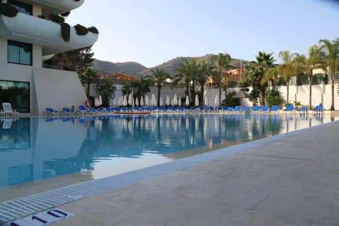 Deloix Hotel Pool in Benidorm