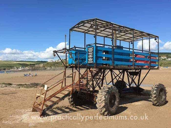 Bigbury on Sea Tractor