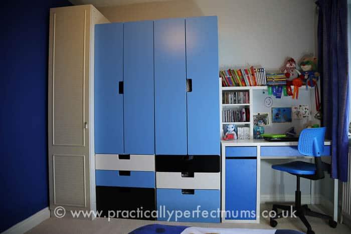 Chelsea Football Bedroom Makeover-3479