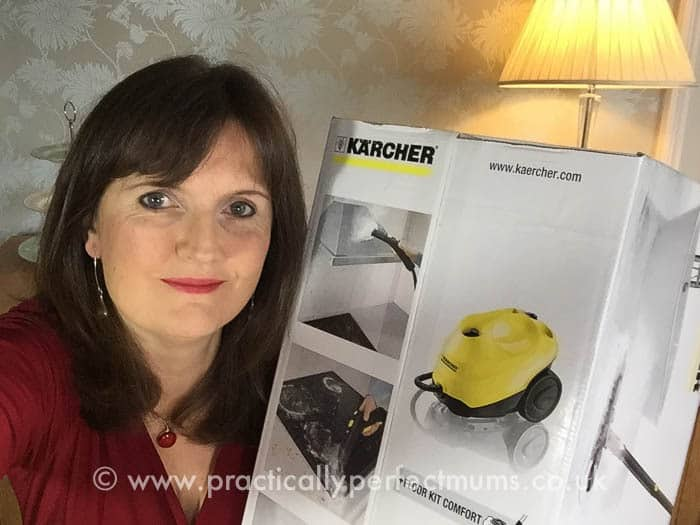 karcher steam cleaner sc3 video and review. Black Bedroom Furniture Sets. Home Design Ideas