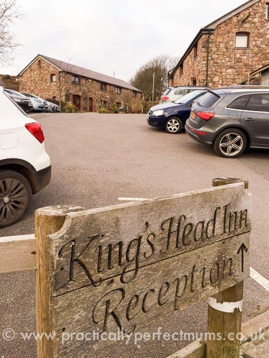 Reception at King's Head, Gower Peninsula, Llangenith, Wales