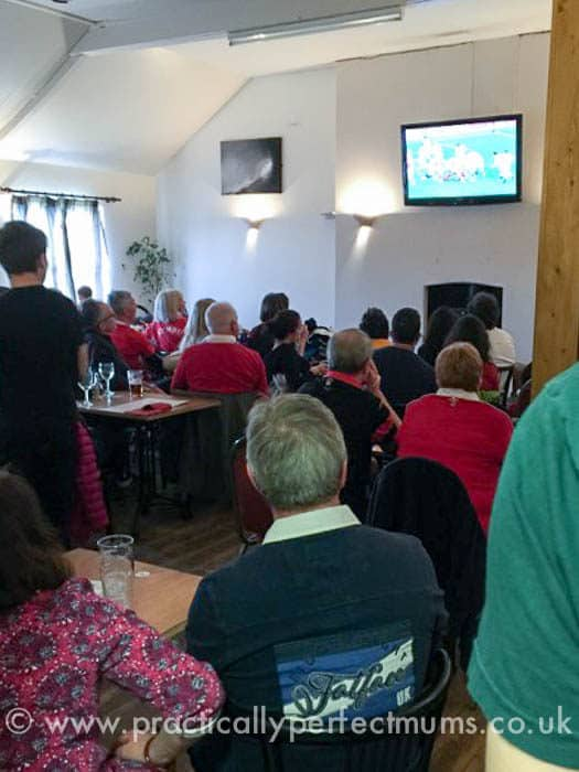 Six Nations Rugby, King's Head, Gower Peninsula, Llangenith, Wales