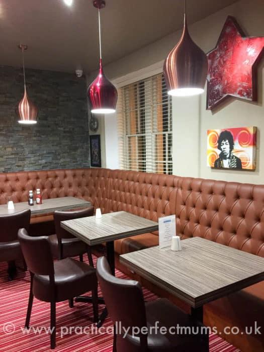 Ordulph Bar and Terrace Restaurant, Tavistock, Devon.