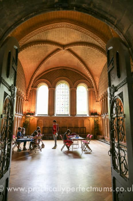Bristol Cathedral Chapter House and Children's Craft Activities