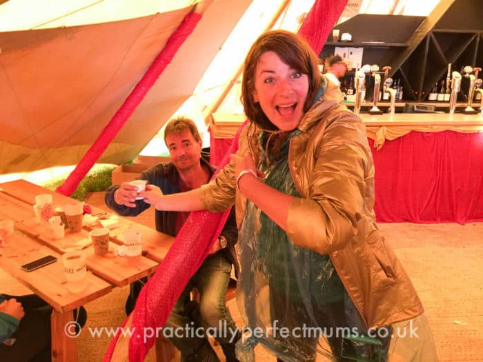 Free Love Tea in the Tipi Tent! - Valley Fest Review 2016