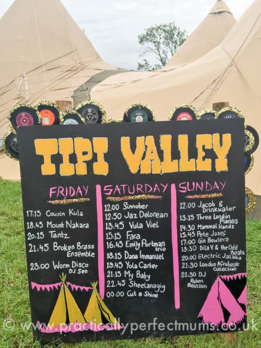 Tipi Valley Playlist - Valley Fest Review 2016