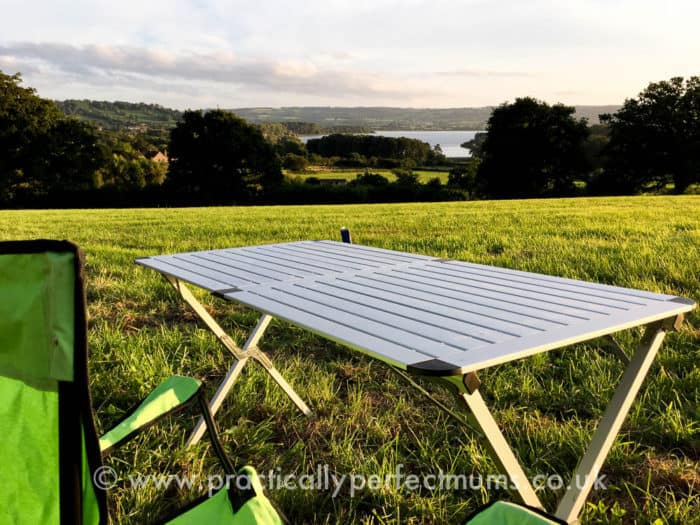 View over Chew Lake from our Tent - Valley Fest Review