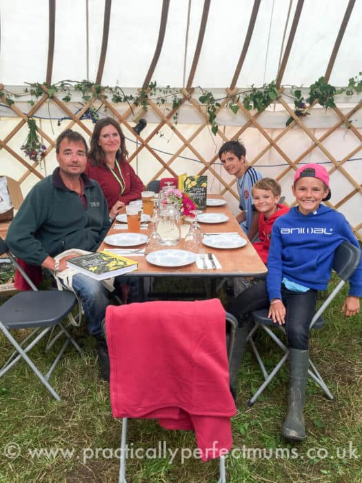 Sunday Lunch with Riverford Organic - Valley Fest Review 2016