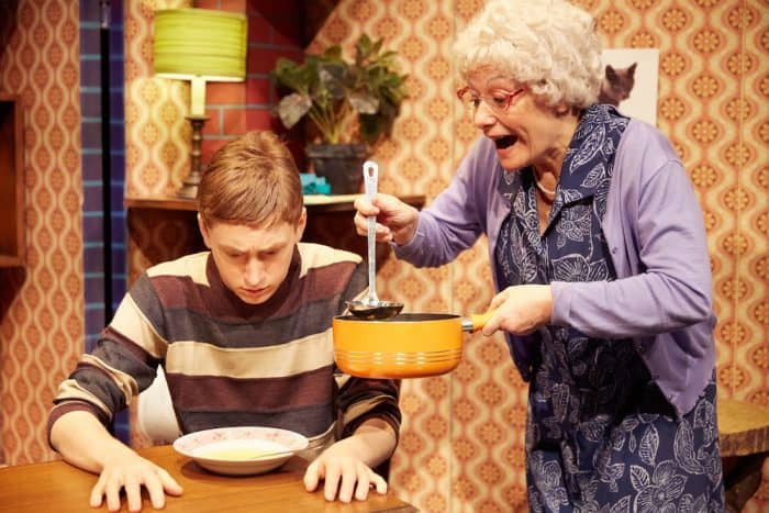 No, not cabbage soup again! Gangsta Granny REVIEW
