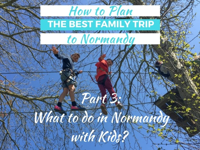 If you're looking for interesting family activities in Normandy, click through for our recommendations on what to do in Normandy with Kids, including beach fossiling, learning about William the Conqueror, the WWII Normandy landings and super fun activities like the Bayeux Adventure! We also include suggestions of what else you can do in the area and which activities are the best value for money for families.