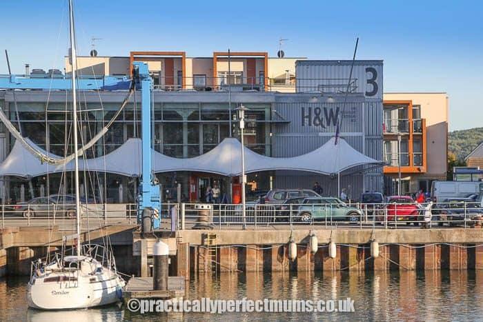 Hall and Woodhouse Restaurant on Portishead Marina