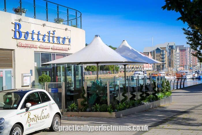 Bottelino's Restaurant on Portishead Marina - Portishead restaurants 2021