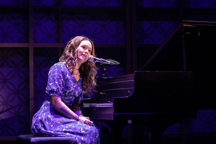 Daisy Wood-Davis as Carole King in Beautiful The Musical