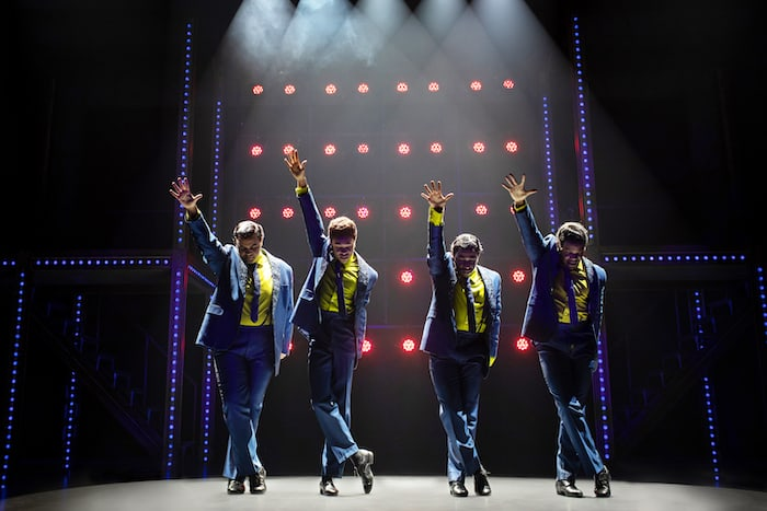 The Drifters in Beautiful The Musical