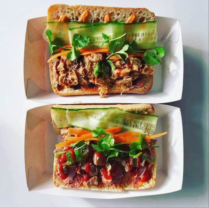 Banh Wagon takeaway meal in a box
