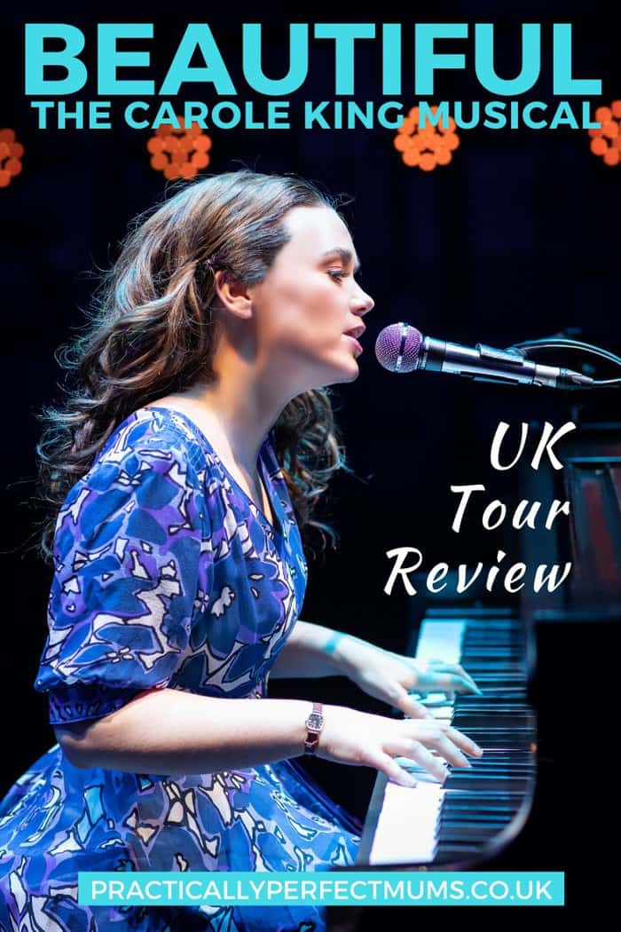 Multi-award-winning, BEAUTIFUL THE CAROLE KING MUSICAL, is now touring the UK. Find out whether the show lives up to its name, in our full Beautiful the Musical review, complete with story synopsis, show highlights, age suitability guide and our verdict on the show!