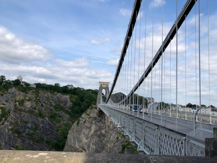 Free things to do in Bristol with Kids - Visit Clifton Suspension Bridge visitors' centre and walk across Brunel's iconic bridge!