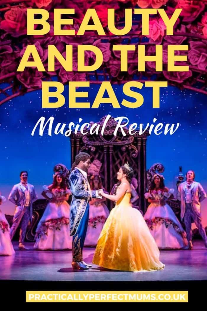 Disney's Beauty & The Beast Musical Pin