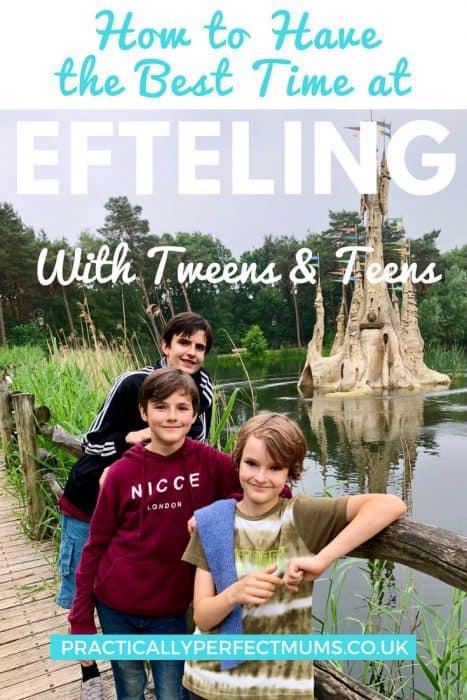 Efteling with teens and tweens