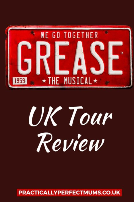 Grease the Musical on tour with Peter Andre Review