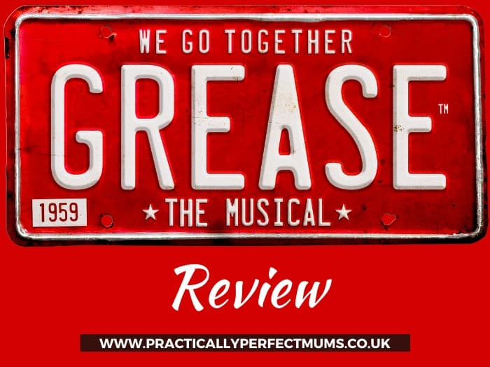 Grease the Musical on tour with Peter Andre Review Post
