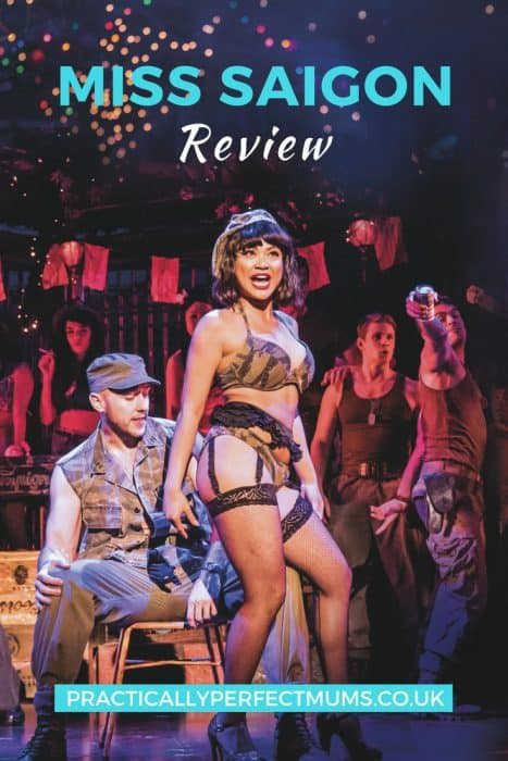 Miss Saigon Review: All Set to Have Your Heart Broken?! If you fancy a trip to the theatre but aren't sure whether Miss Saigon is the show for you, check out this review which includes story synopsis, age suitability guide, background on the cast, link to buying tickets, fun facts and figures and our verdict on this new production. Click here for all the gen.