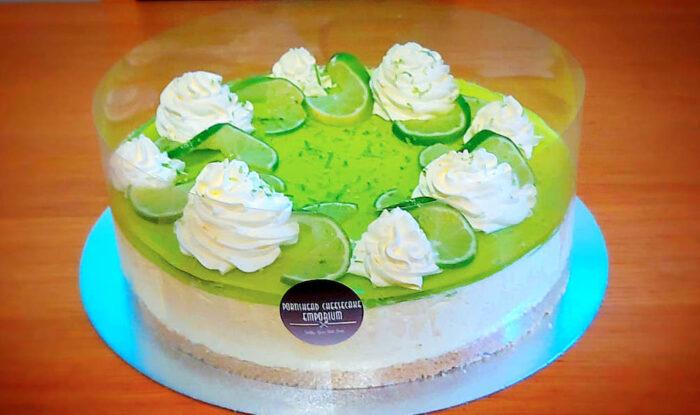 Portishead Cheesecake Emporium lime cheesecake