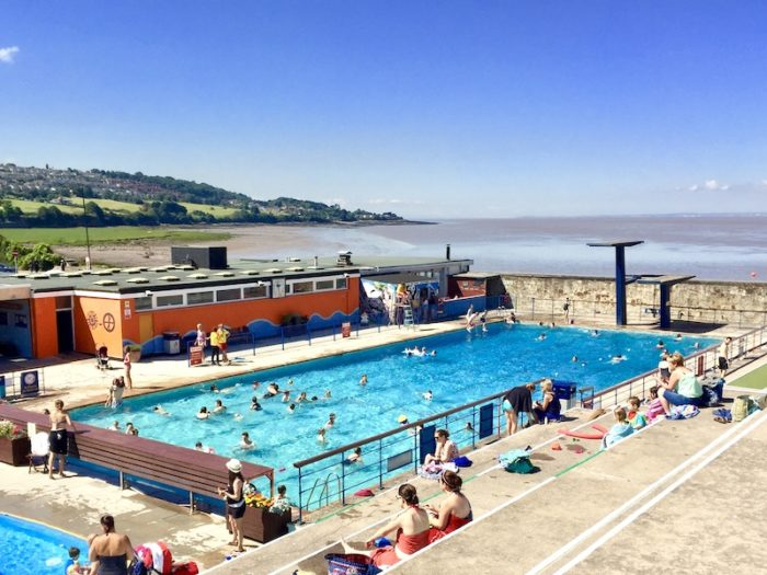 Portishead Open Air Pool - cafe open Good Friday, Easter 2021
