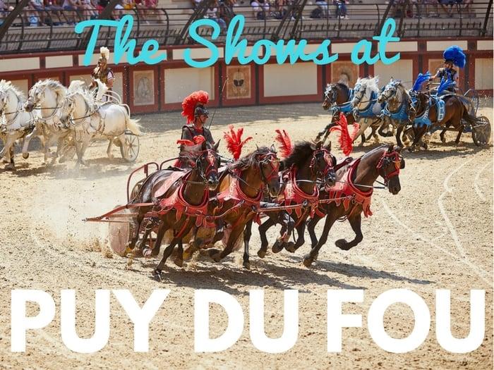Top Puy du Fou shows