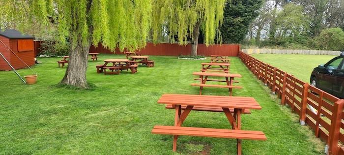 Rudgleigh Restaurant pub garden near Portishead