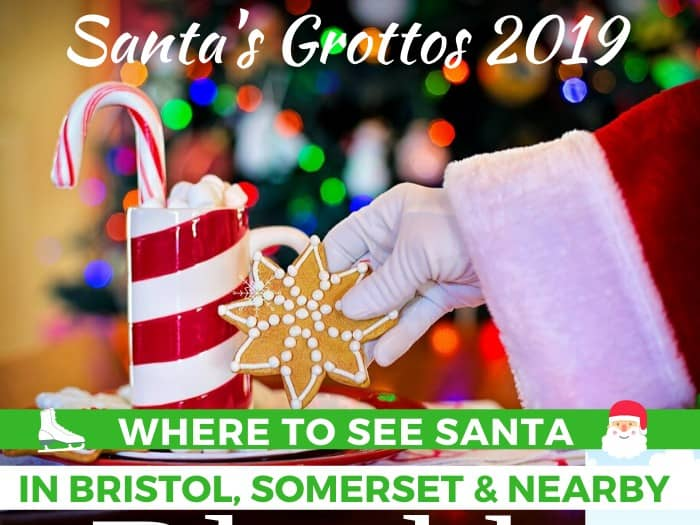 Santa's Grottos in Bristol, Somerset and nearby for Christmas 2019