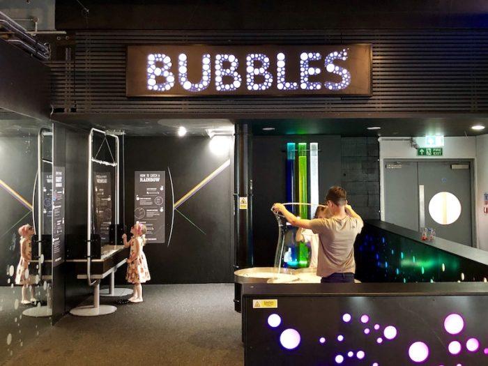 We the Curious Bubbles