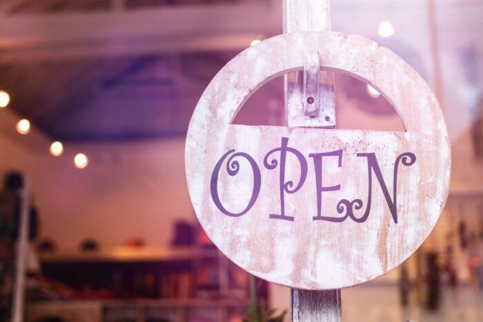 pub open sign